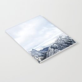 Looking out over the Rockies, in Banff Notebook