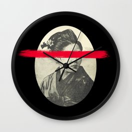 Red Eyes Wall Clock