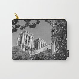 Notre Dame in Spingtime Carry-All Pouch