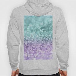 Aqua Purple MERMAID Girls Glitter #1 #shiny #decor #art #society6 Hoody