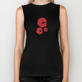 Beautiful Poppies Biker Tank