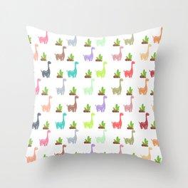 Dinosaur World Throw Pillow