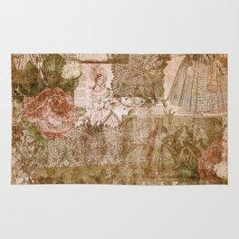 Vintage & Shabby Chic - Victorian ladies pattern Rug