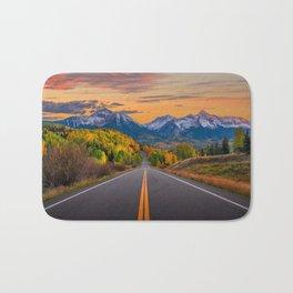 The Road To Telluride Bath Mat