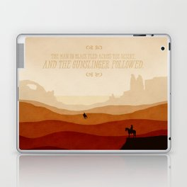 And The Gunslinger Followed - Dark Tower : The Gunslinger Laptop & iPad Skin