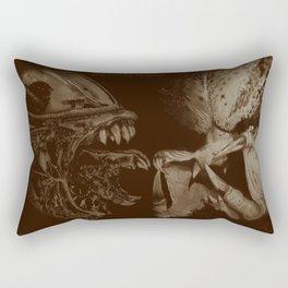 Alien vs Predator Rectangular Pillow