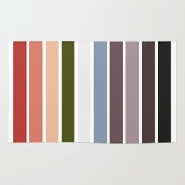 The colors of - Princess Mononoke Rug