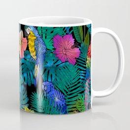 Tropical Birds and Botanicals Coffee Mug