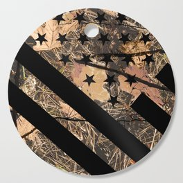 Hunting Camouflage Flag 3 Cutting Board