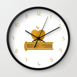 Teacher / Professions Set Wall Clock