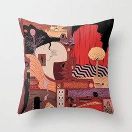 Who is the Dreamer Throw Pillow