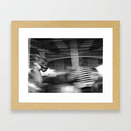 Antique Carousel Framed Art Print