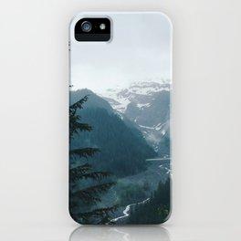 Mt. Rainier iPhone Case