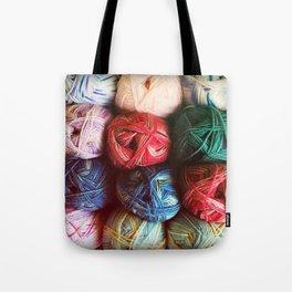 Balls of Yarn Tote Bag