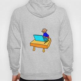 Laptop Boy Hoody
