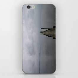 Lake Chiemsee In A Mist iPhone Skin