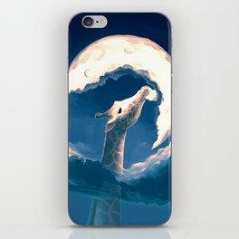 La fable de la girafe iPhone Skin