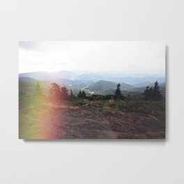 Dreamy Mountain Views Metal Print