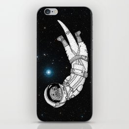 André Floating Around in Otter Space iPhone Skin