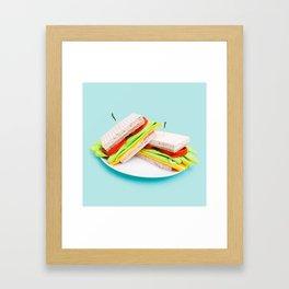 Kitchen Sandwich  Framed Art Print