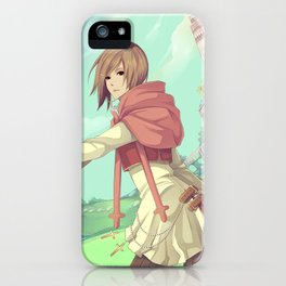 The Asgard Plains iPhone Case