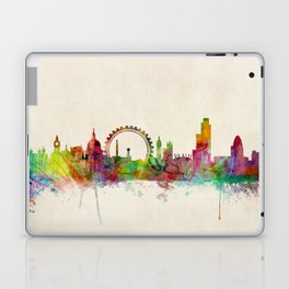 London Skyline Watercolor Laptop & iPad Skin