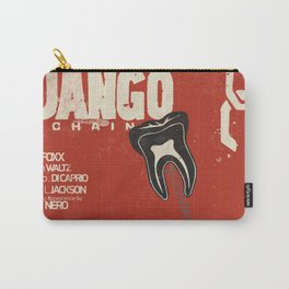 Django Unchained, Quentin Tarantino, alternative movie poster, Leonardo DiCaprio, Jamie Foxx Carry-All Pouch