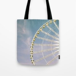 Paris Ferris Wheel Tote Bag