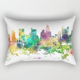Columbus, Ohio skyline SP Rectangular Pillow