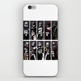Commanders and Captains iPhone Skin