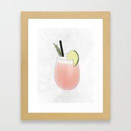 The Paloma Framed Art Print