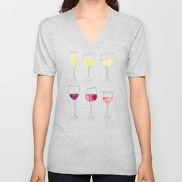 Wine Collection Unisex V-Neck