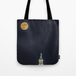 Lady Freedom Tote Bag