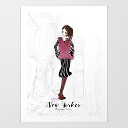 New Yorker Art Print