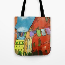 Laundry in Trastevere Tote Bag