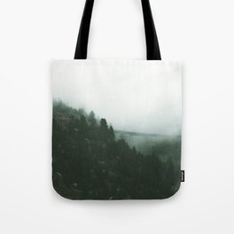 The Trestle In The Clouds Tote Bag