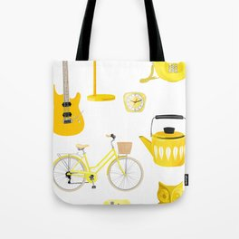 Yellow Collection Tote Bag