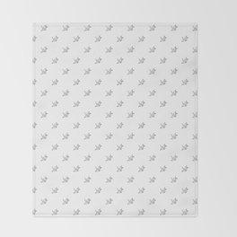 Paper crane pattern 2 Throw Blanket