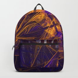 Fire Glow Raccoon Backpack