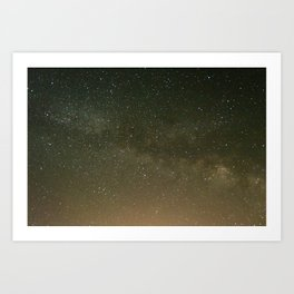 Milky Way 1 Art Print