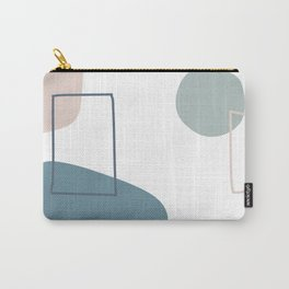 Live with love in blue Carry-All Pouch