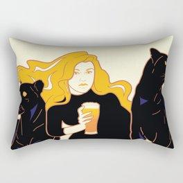 Panther Brews Rectangular Pillow