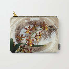 A Brushstroke Of Orchid Genus Carry-All Pouch