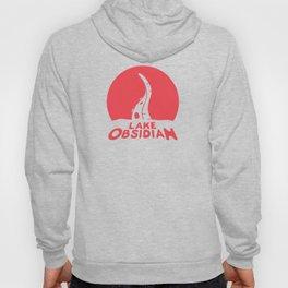 Lake Obsidian - Red Hoody