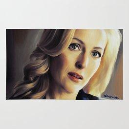 Stella Gibson oli color painting Rug