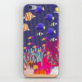 Coral Reef iPhone Skin