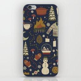Winter Nights iPhone Skin