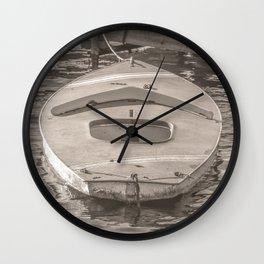 Sailboat Hull Wall Clock