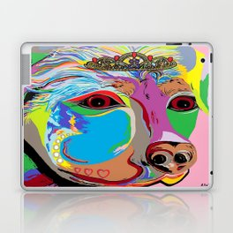 Lady Rottweiler Laptop & iPad Skin