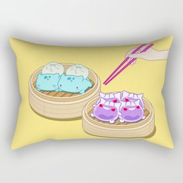 Dim Sum Mon's Rectangular Pillow